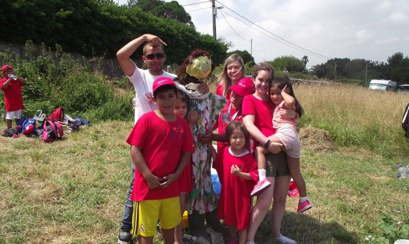 Actividades de reciclaje con los niños del Centro Alfalar