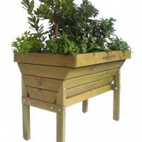 Mesa de Cultivo para huertos urbanos 80 cm de alto