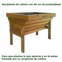 Características Mesa de Cultivo para huertos urbanos Paula