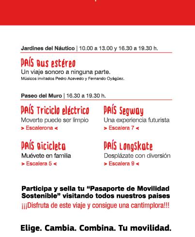 Día Mundial sin coche en Gijón / Xixón