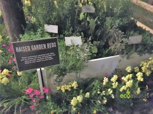 Camas vegetales en el huerto urbano de Disneyworld