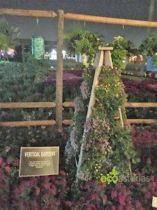 Jardines Verticales en el huerto urbano de Disneyworld